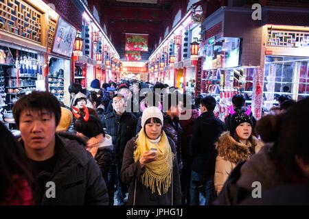 Flea market, Beijing, China - Stock Image