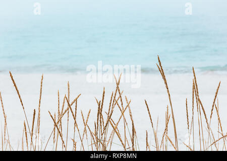 Summer landscape travel minimal background nature calm scenic view - Stock Image