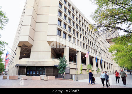 J. Edgar Hoover FBI building, Washington D.C. - Stock Image