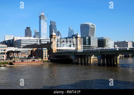 London skyline England UK  KATHY DEWITT - Stock Image
