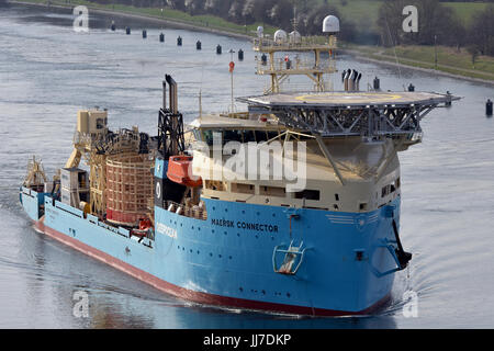 Cable-Layer Maersk Connector - Stock Image