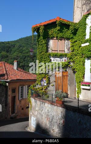 France, Occitanie, Haute Garonne department (31), Saint Bertrand de comminges - Stock Image