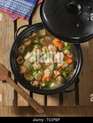 Sodd. Traditional Norwegian meal. Norway Food - Stock Image