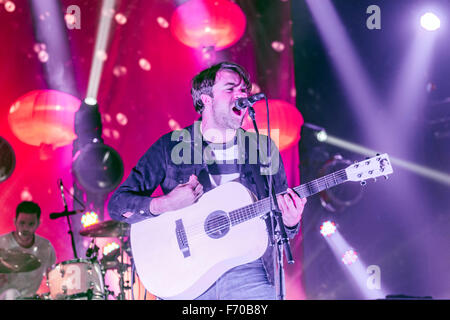 London, UK, 22 Nov 2015. The Vaccines Live Performance at o2 Brixton Academy. Credit:  Robert Stainforth/Alamy Live - Stock Image