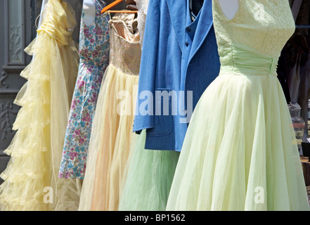 Vintage clothes - Stock Image