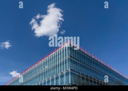 Neues Swiss Re Gebaeude, Swiss Re Next, Zuerich, Schweiz |New Swiss Re building, Swiss Re Next,  by Diener & - Stock Image