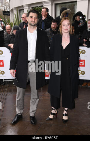 London, UK. 12th Mar, 2019. LONDON, UK. March 12, 2019: Rosie Marcel arriving for the TRIC Awards 2019 at the Grosvenor House Hotel, London. Picture: Steve Vas/Featureflash Credit: Paul Smith/Alamy Live News - Stock Image