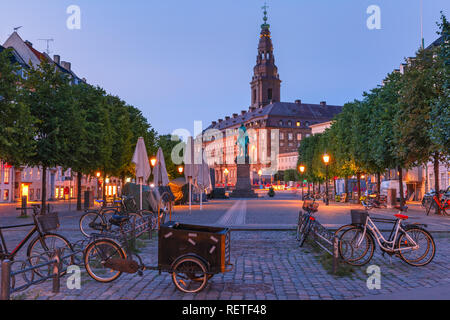 Christiansborg Palace, Copenhagen, Denmark - Stock Image