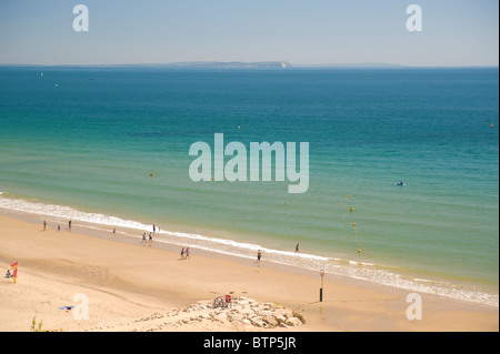 Bournemouth Beach, Dorset, UK. - Stock Image