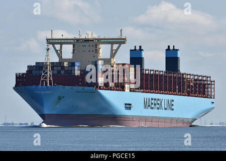 Manchester Maersk - Stock Image