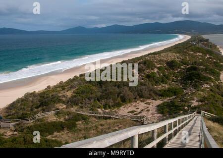 Adventure Bay at the Neck, Bruny Island, Tasmania, Australia - Stock Image