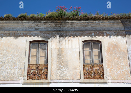 Portugal, Algarve, Monchique, Windows - Stock Image
