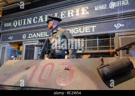 Set from Overlord museum , Normandy, France - Stock Image