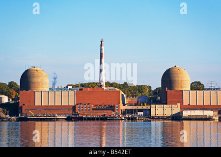 nuclear plant, energy, stoney point, rockland county, new york state, electricity, expensive, cheap, dangerous - Stock Image