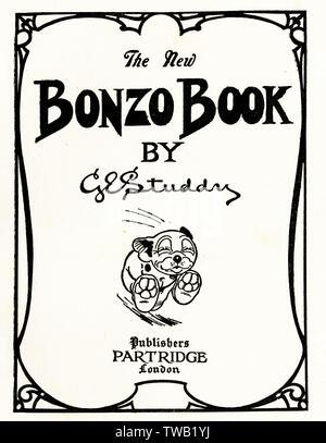 Bonzo     Date: 1927 - Stock Image