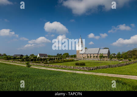 Church, Denmark. - Stock Image