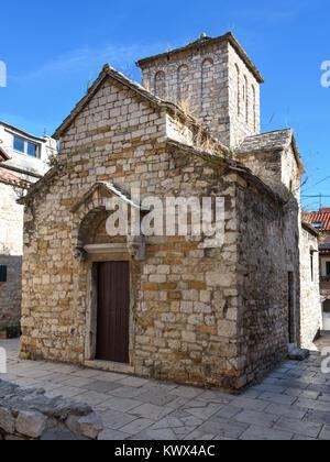 St. Mikula Church, Veli Varos, Split, Croatia - Stock Image