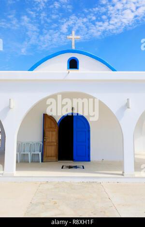 Agia Thekla church, Ayia Napa, Cyprus .October 2018 - Stock Image