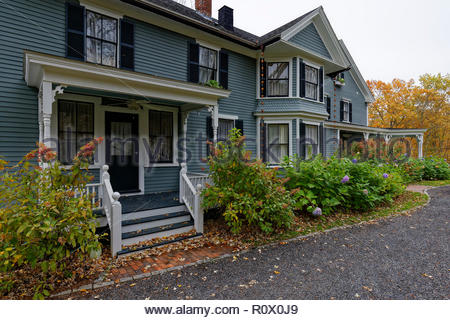 Thompson House Inn, Durham, New Hampshire, USA - Stock Image