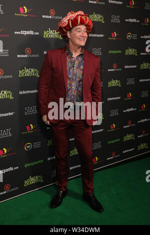 Sydney, Australia. 12th July 2019. Jack and the Beanstalk Giant 3D musical spectacular red carpet at the State Theatre. Pictured: Richard Reid. Credit: Richard Milnes/Alamy Live News - Stock Image