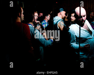 A 1234 Day of It after party at Dalston Superstore London on 10 July 2012. - Stock Image