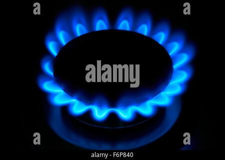 Gas Ring - Stock Image