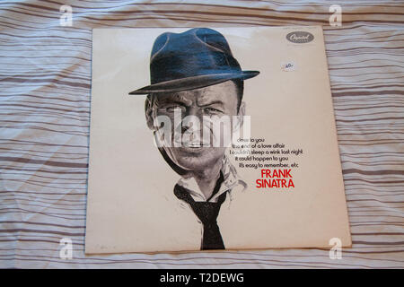 Frank Sinatra with Nelson Riddle Capitol album - Stock Image