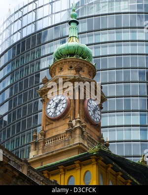 Tower of the Lands Department Building CBD Sydney Australia - Stock Image