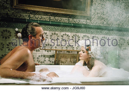 CASINO ROYALE (1967)  Pictured:  David Niven.   copyright Columbia Pictures.  Photo courtesy Granamour Weems Collection. - Stock Image