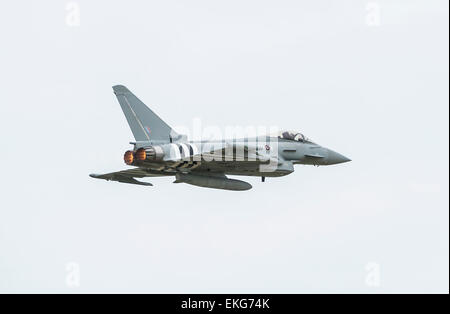 RAF Eurofighter Typhoon 29 Squadron Conninsgby - Stock Image