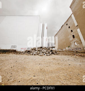 blank,old ruin,building - Stock Image