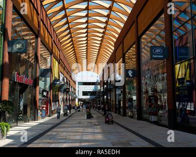 Lexicon. Bracknell shopping center mall - Stock Image