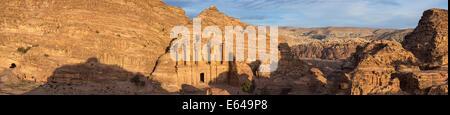 Monastery (Al-Deir), Petra, Jordan - Stock Image