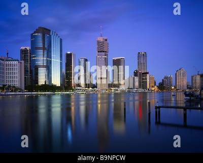 Brisbane Central Business district - Stock Image