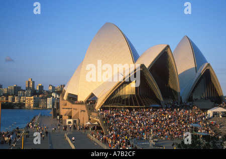 Australia New South Wales Sydney Opera House - Stock Image