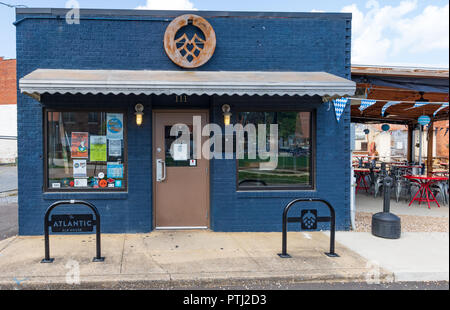 JOHNSON CITY, TN, USA-9/30/18: The Atlantic Ale House in downtown. - Stock Image