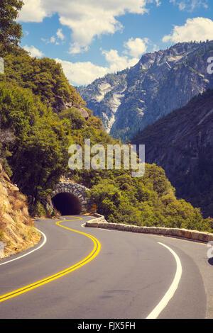 Scenic Open Road - Stock Image