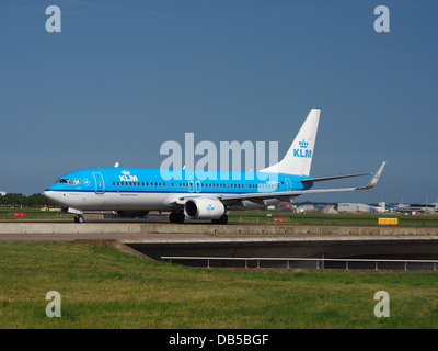 PH-BXF KLM Royal Dutch Airlines Boeing 737-8K2(WL) - cn 29596 1 - Stock Image
