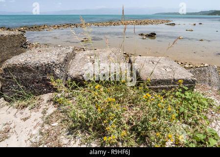 Vista Cape, aka Skanderbeg Cape, Rodonit Albania - Stock Image