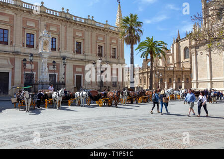 General Archives of the Indies, Seville, Spain - Stock Image