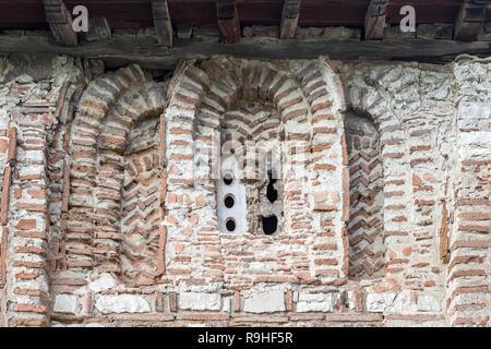 Brickwork  Berat Castle Old Town Albania - Stock Image