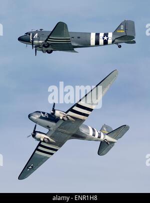 Douglas C-47A Dakota '2100884' - Stock Image
