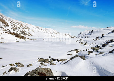Cwm Lloer is a cwm or corrie in the Carneddau range in the Snowdonia National Park, North Wales. - Stock Image