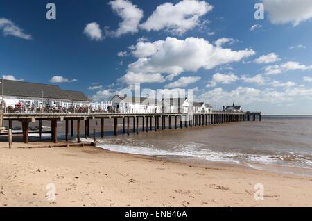 Southwold Pier Suffolk UK - Stock Image