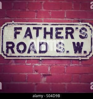 Father's road - Stock Image