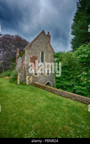 fransiscan monestary canterbury - Stock Image