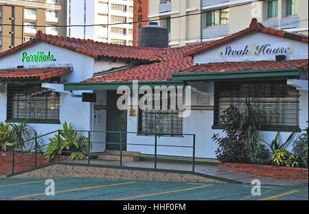 Parrillada Steak House Panama city Panama - Stock Image
