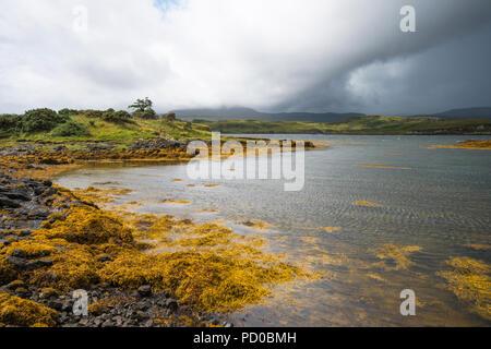 Loch Dunvegan, Isle of Skye, Scotland, UK - Stock Image