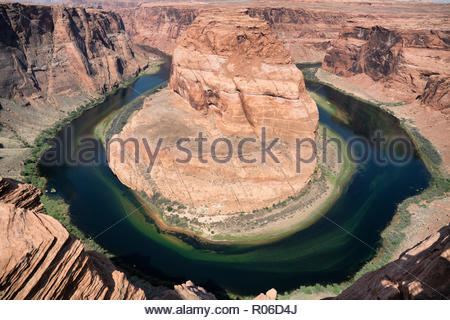 Horseshoe bend in Grand Canyon, Arizona - Stock Image