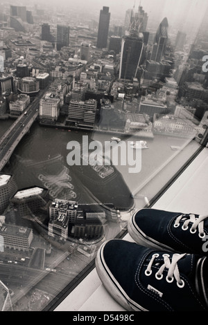 View from The Shard - Stock Image